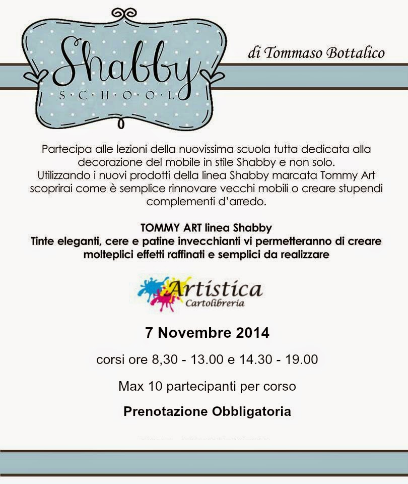 Evento - Tommy Art Shabby School