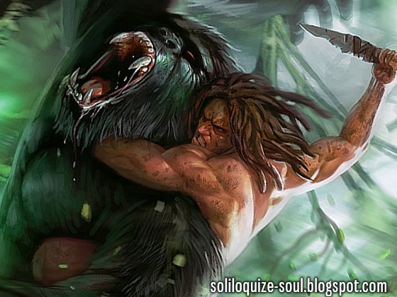 Soliloquize - Tarzan gorille ...