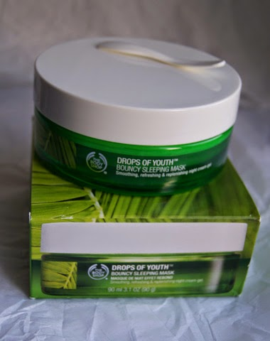 body shop drops of youth face mask