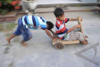 Permainan Tradisional di Desa Gunung Wuled - Purbalingga