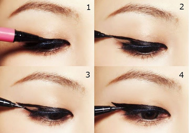 korean eye makeup for monolid