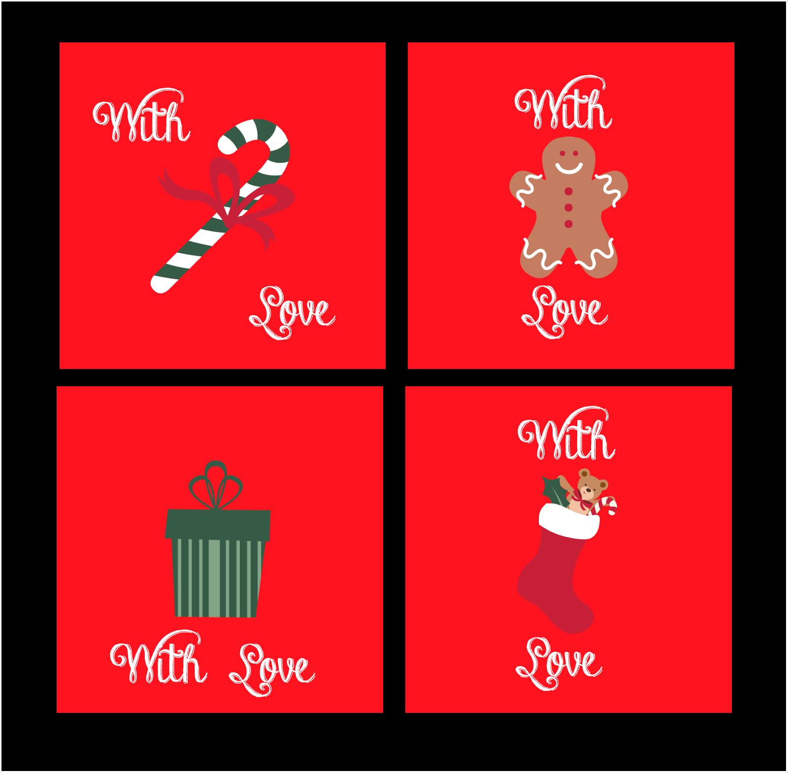 Tarjetas para regalos de navidad christmas cards la - Disenar tarjetas de navidad ...