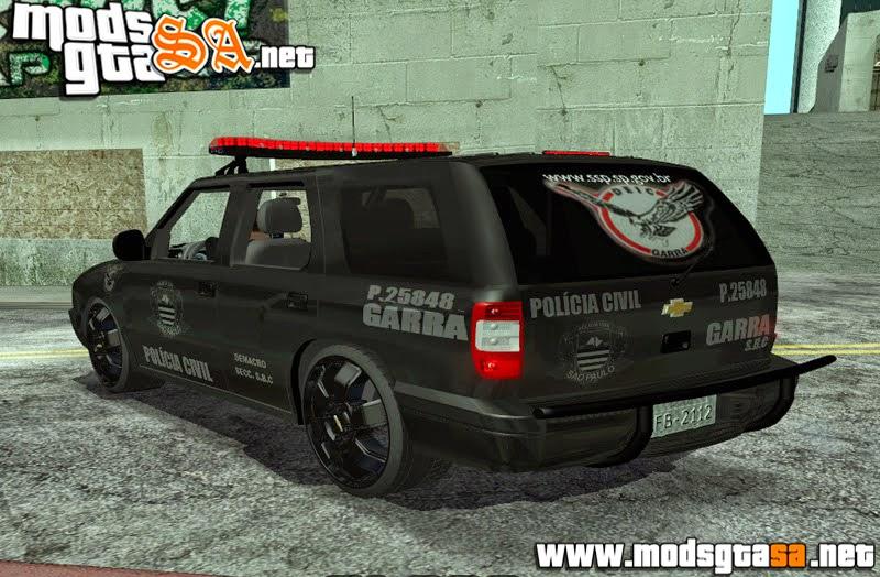 SA - Chevrolet Blazer 2010 PCESP GARRA