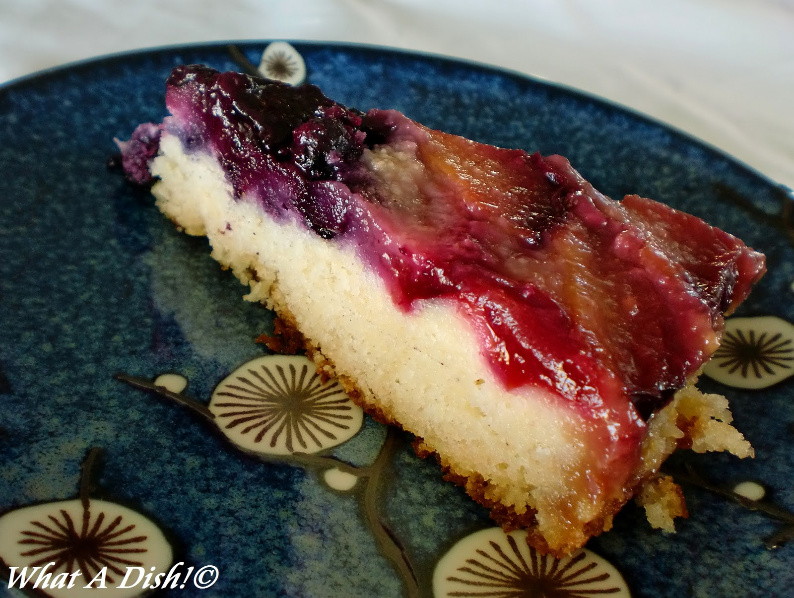 What A Dish!: Plum-Blueberry Upside Down Cake