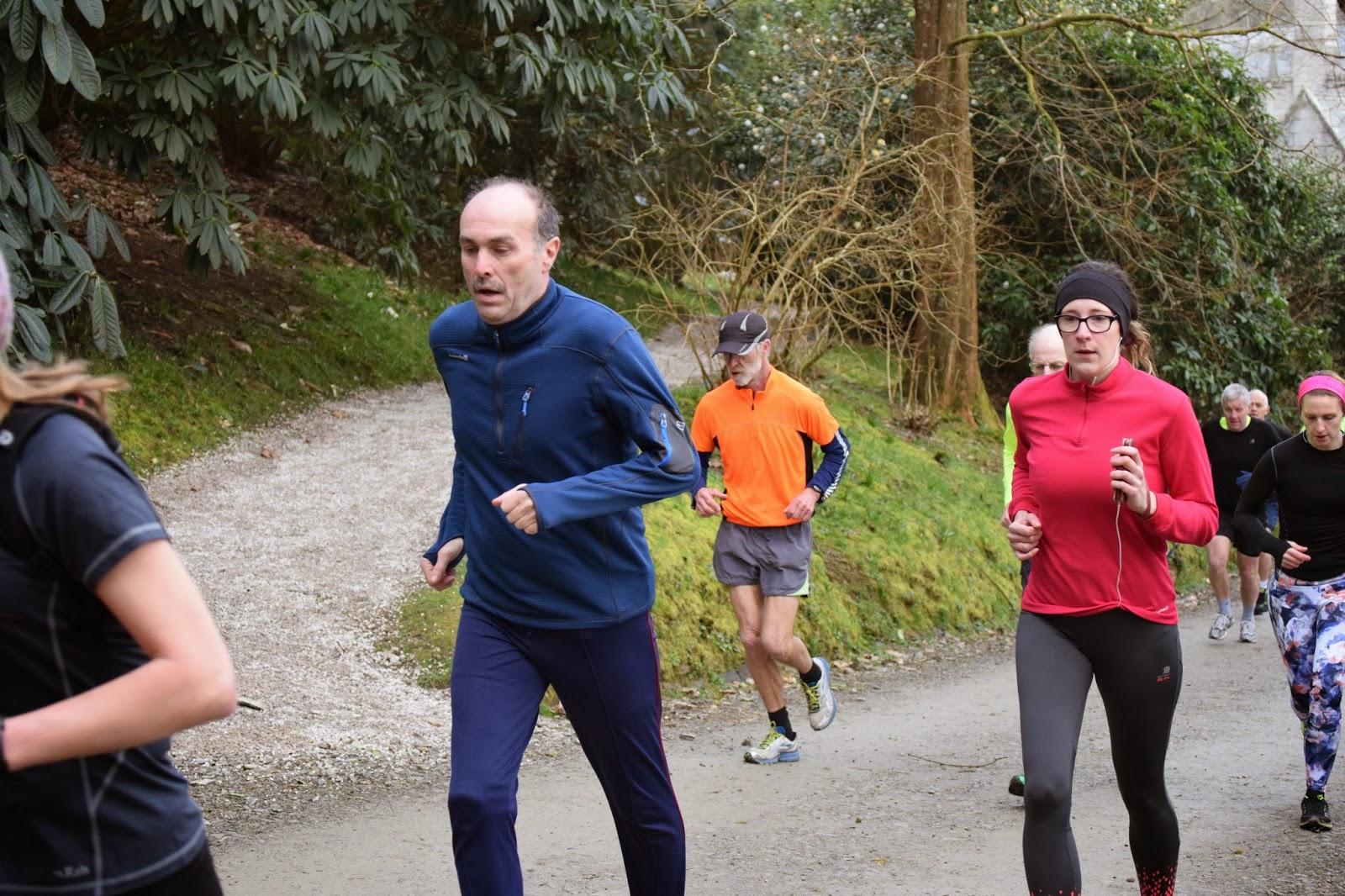 Starting Lanhydrock Park Run Bodmin