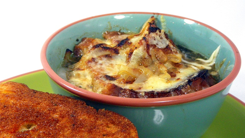 how to cook frozen french onion soup