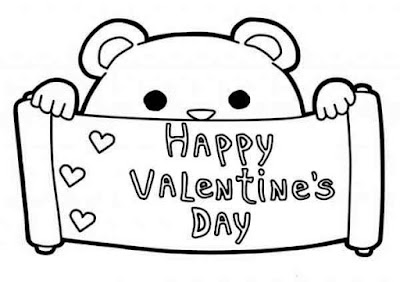 valentine's day coloring images for him
