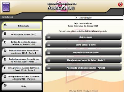 CURSO INTERATIVO DE ACCESS 2010 (EDITORA EUROPA)
