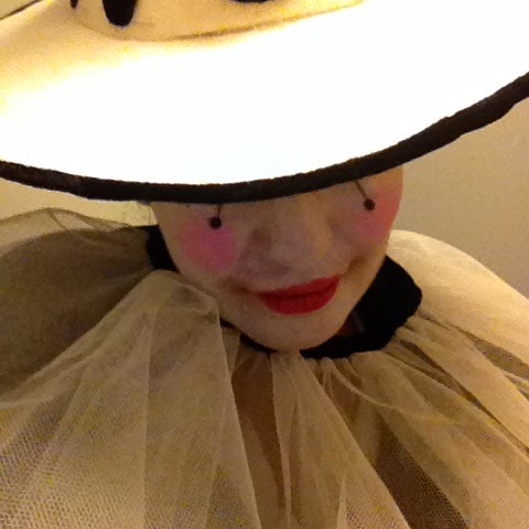 pierrot clown makeup