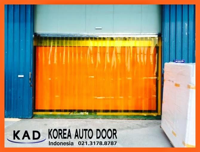 it is a photo of high speed door