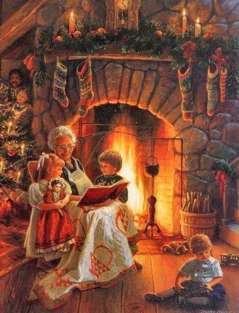 Noël histoire grand-mère