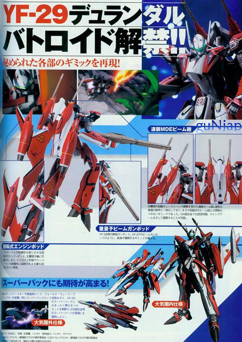 DX Chogokin YF Durandal Valkyrie Alto Saotome Custom New - Custom graphic for alto