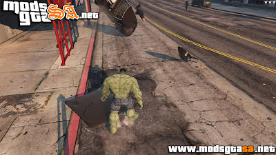 V - Mod The Hulk para GTA V PC