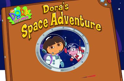 لعبة مغامرات دورا فى الفضاء