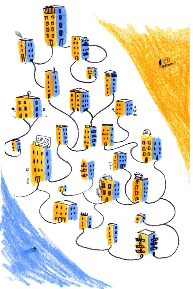 le città invisibili illustrazione italo calvino francesca ballarini