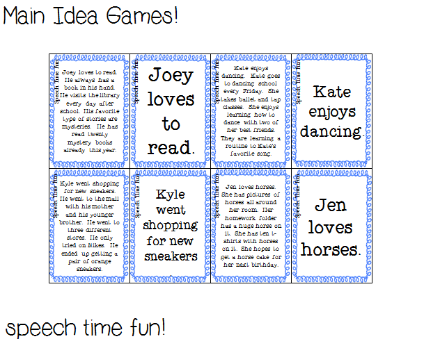 Fun Speech Ideas