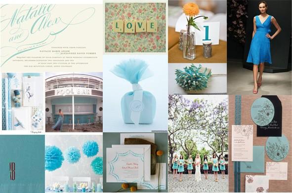 Turquoise White Inspiration