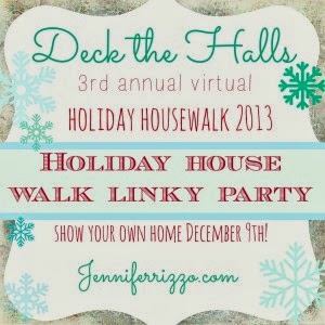 Deck The Halls Holiday House Walk Linky Party