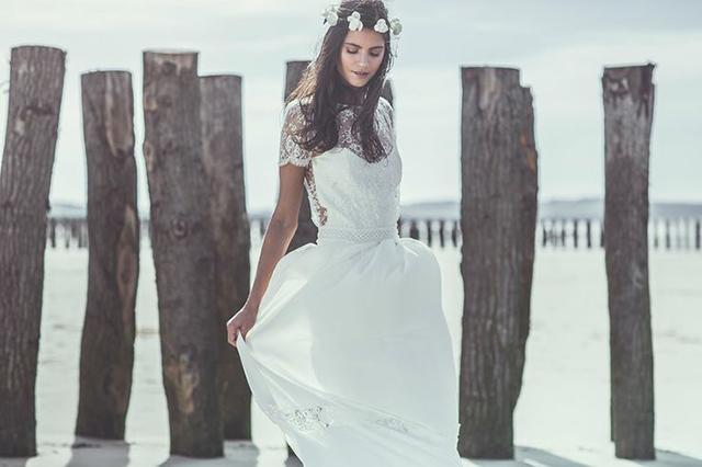 vestidos de novia de Laure de Sagazan