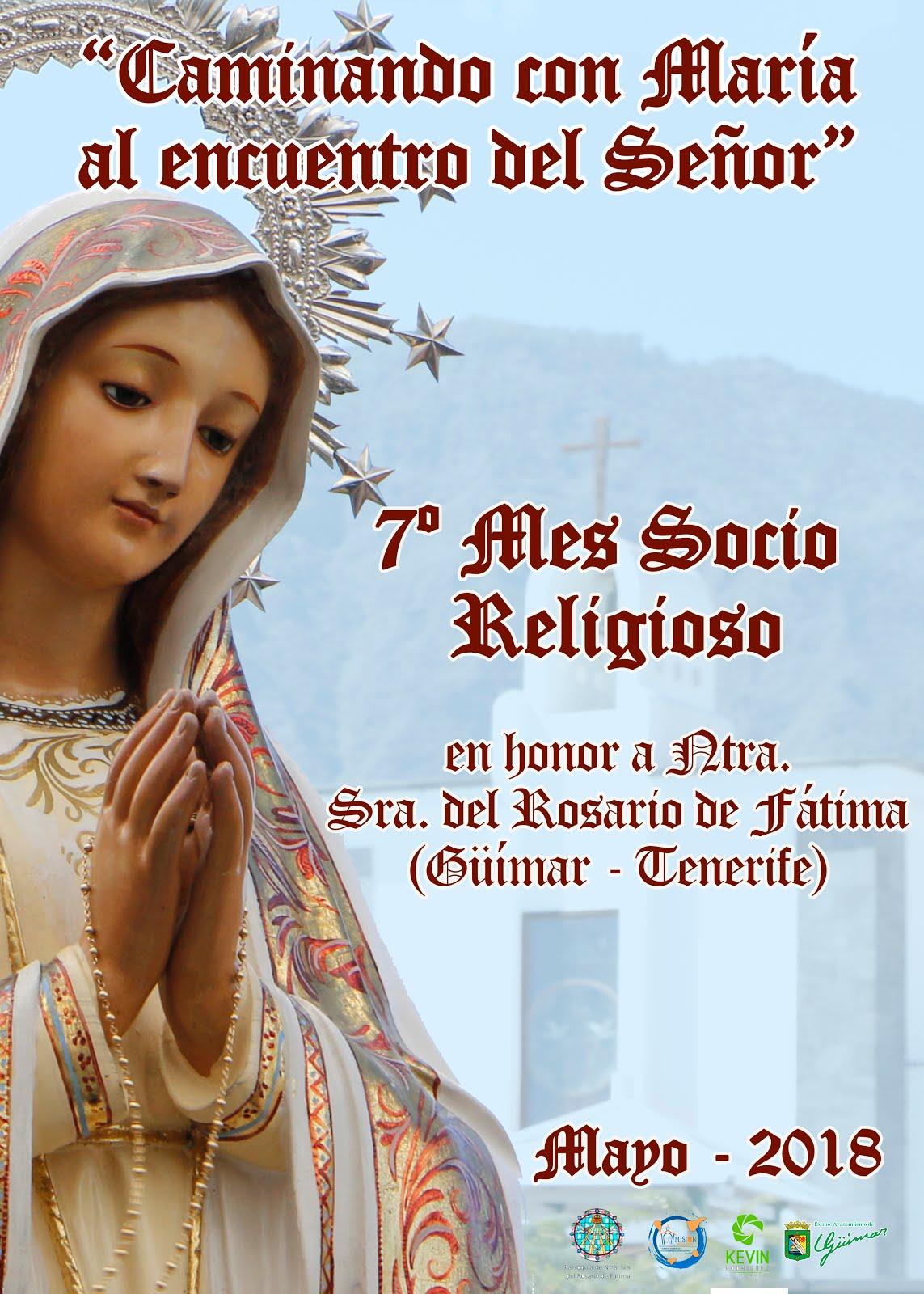 VII mes Socio Religioso en honor a Ntra. Sra. del Rosario de Fátima.