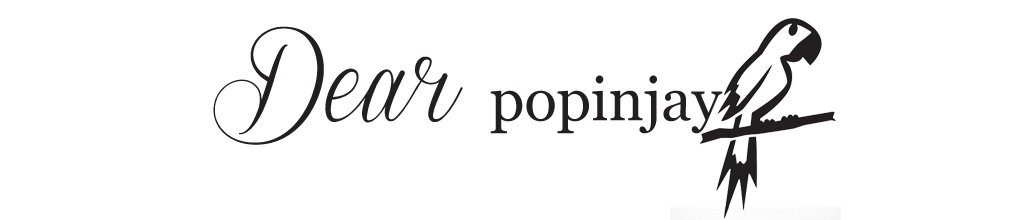 Dear Popinjay- lifestylowy blog o modzie