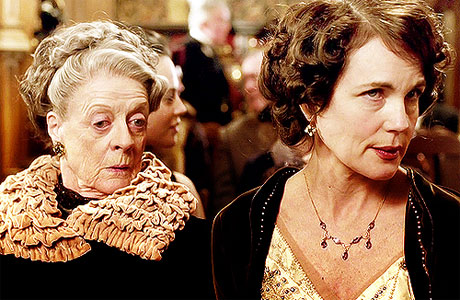 Downton Abbey Dowager Countess Cora Crawley Lady Grantham