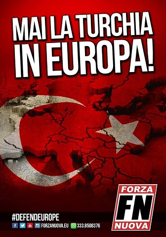 Mai la Turchia in Europa!