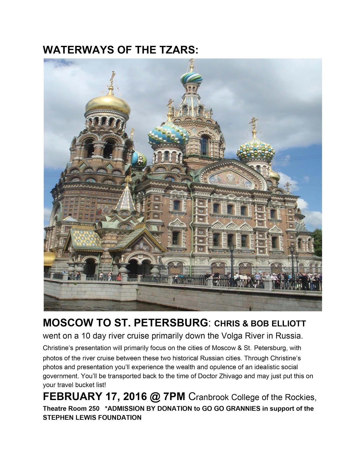 Russia Travelogue