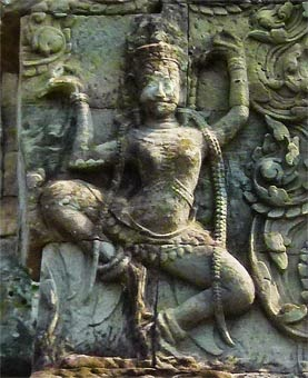Apsara at Angkor Thom