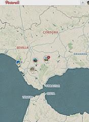 Mapa de este Sur