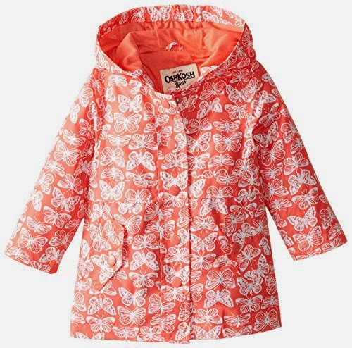 Osh Kosh Baby-Girls Infant Printed Rainslicker