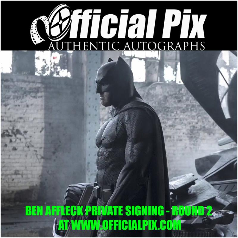 Official Pix signing with Ben Affleck! Deadline May 14