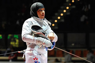 Ibtihaj Muhammad, Atlet Berhijab AS Pertama di Olimpiade