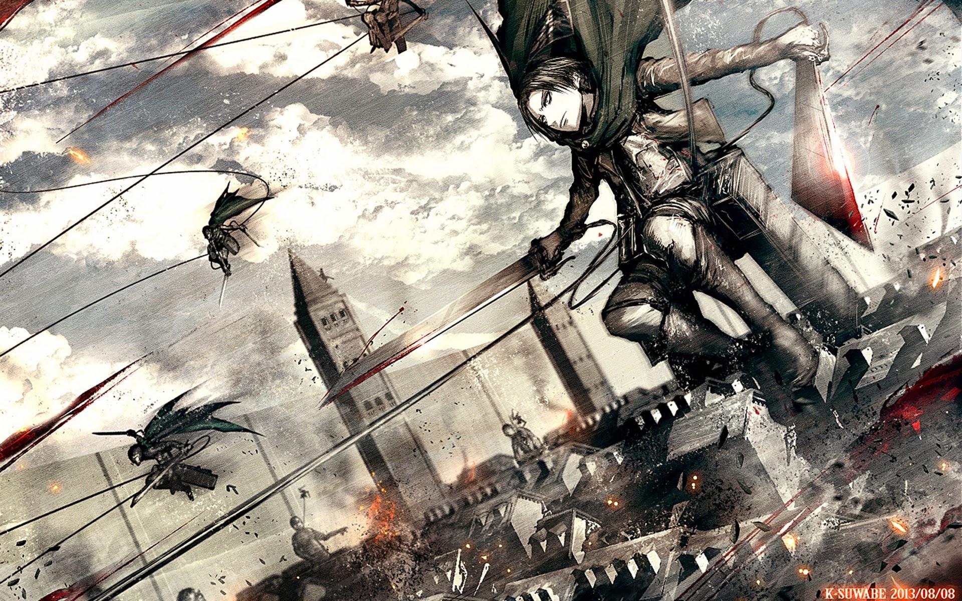 Attack on Titan Levi Picture 9v Wallpaper HD