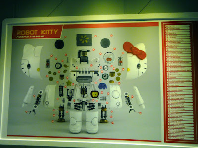 Robot Kitty Assembly Manual Taipei Exhibition