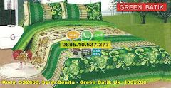 Harga Sprei Bonita – Green Batik Uk. 180×200 Jual