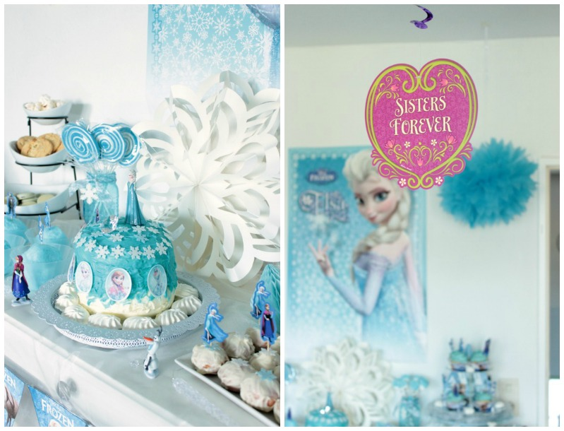 Winter wonderland birthday party pictures
