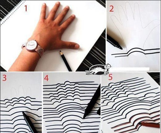 3d Hand Drawing3