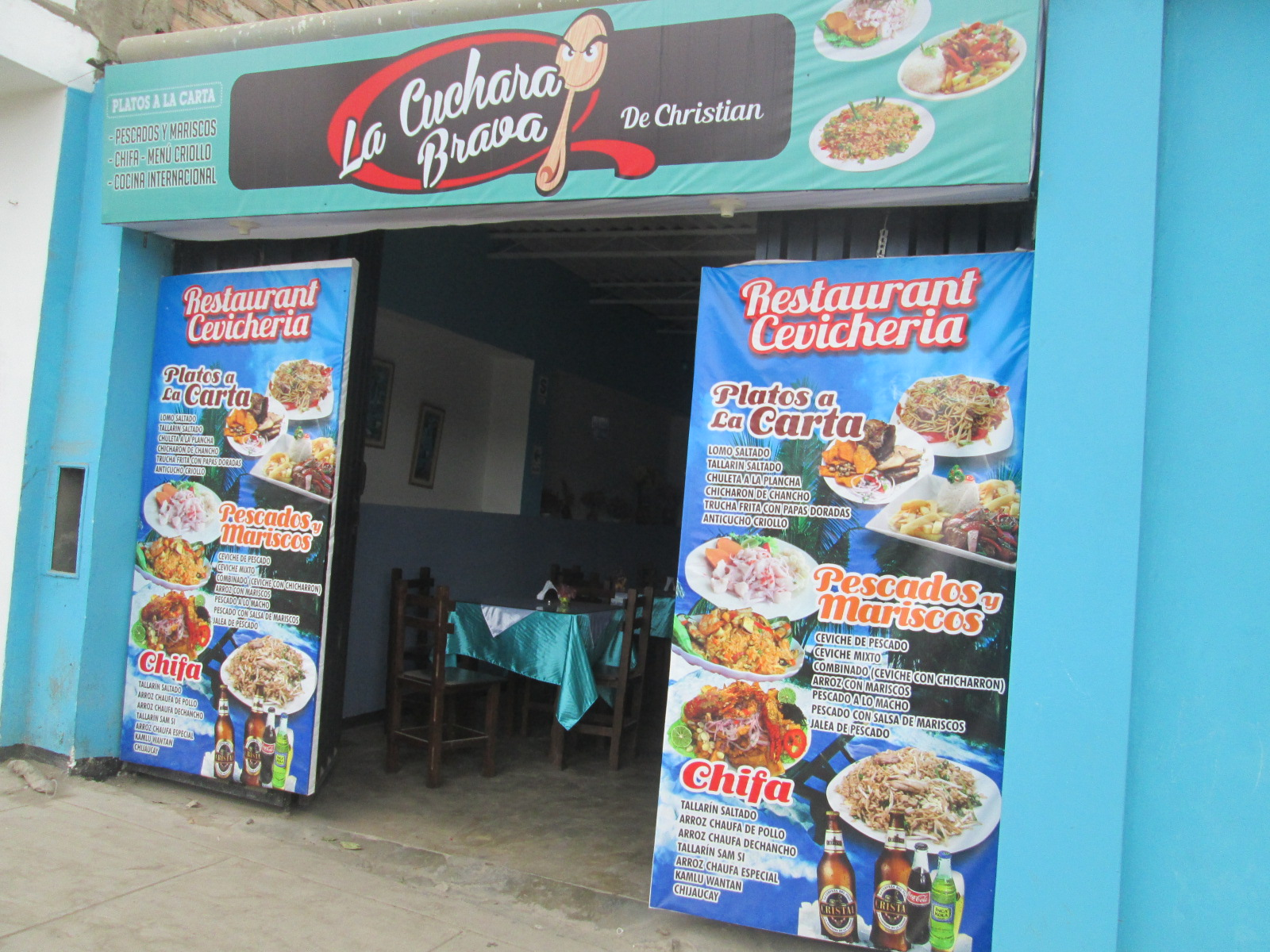 Camino Al Huarique 2016 # Muebles Para Cevicheria