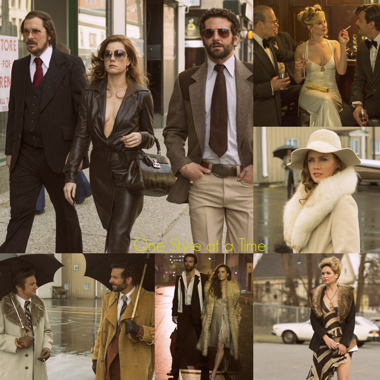 Jackie O Hustler Pics Good fashion on film: 'american hustle' 70's style - one style at a time