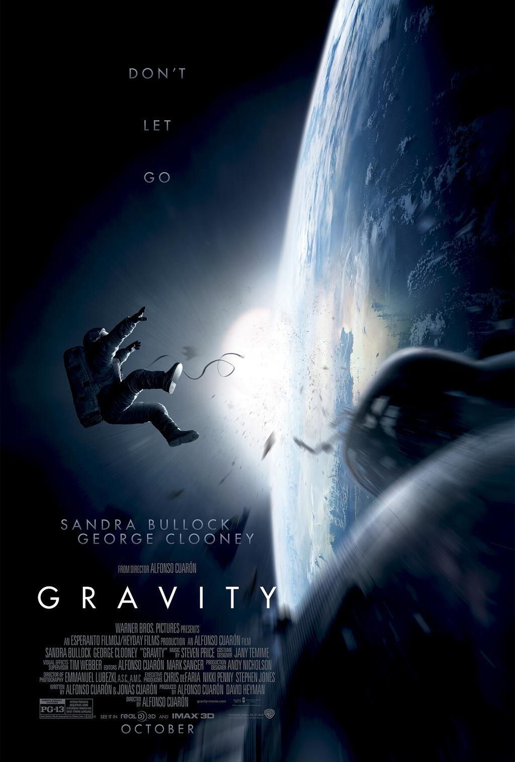 CIA☆こちら映画中央情報局です: Gravity:アルフォンソ・キュ... アルフォンソ・キュ