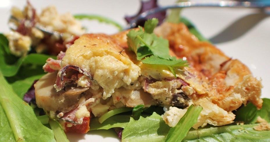 ... Delectable Creations: Artichoke Mushroom Pepperoni Parmesano Tortino