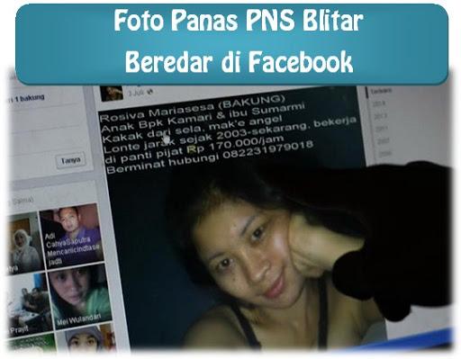 Foto Bugil PNS Wanita Pemkab Blitar Beredar