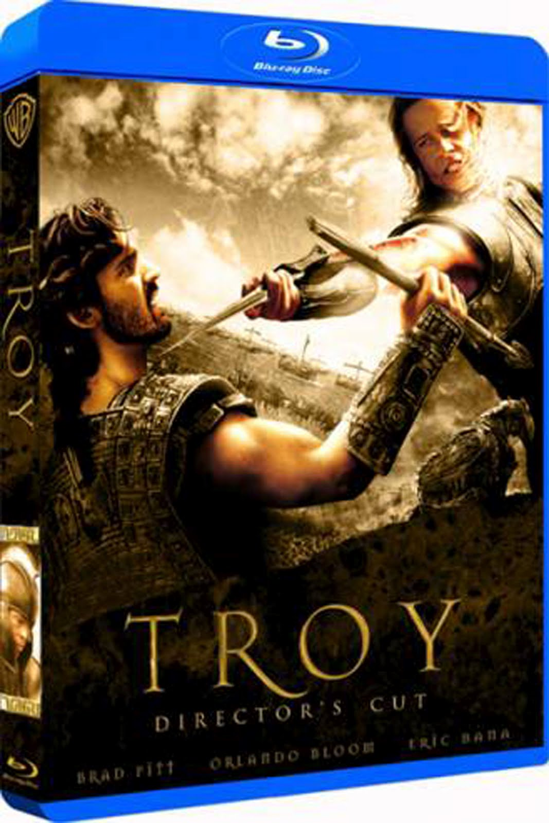 Troy Director's Cut Blu-ray Case