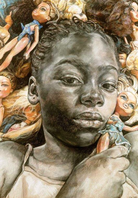 Barabara Walker Study Series, 2011, Charcoal and pastel on paper, 50 x 70cm