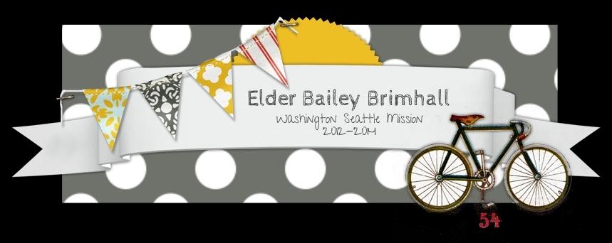 Elder Bailey Brimhall