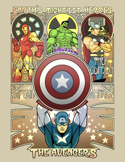 Avengers Nouveau por ninjaink