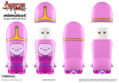 Adventure Time x Mimobot USB Flashdrive Collection - Princess Bubblegum