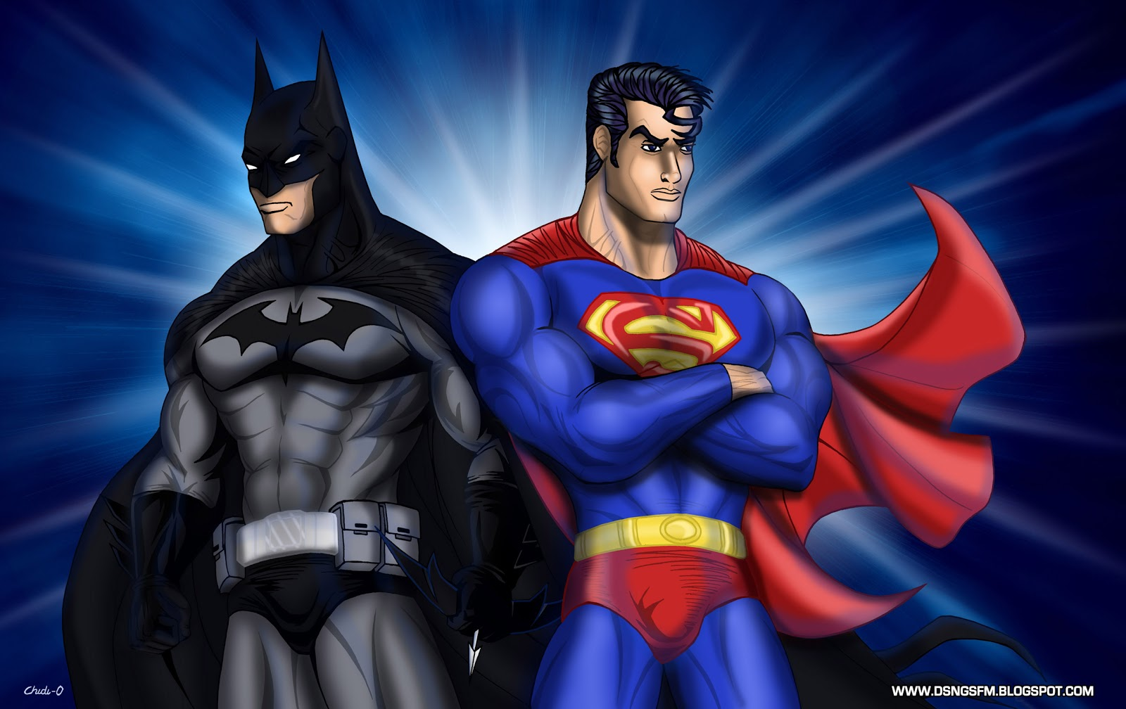 DSNG39;S SCI FI MEGAVERSE: SUPERMAN BATMAN POSTERS  PLUS NEW ART BY