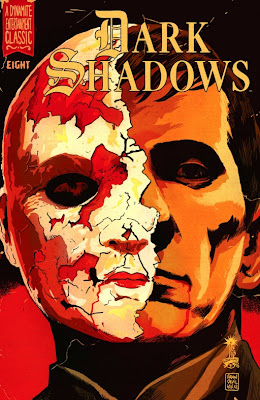 Cover of Dark Shadows #8 by Francesco Francavilla